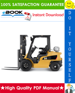 Caterpillar Cat GP15N, GP18N Lift Trucks Service Repair Manual | eBooks | Technical