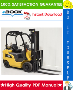 Caterpillar Cat GP20CN Lift Trucks Service Repair Manual | eBooks | Technical