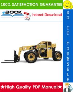 Caterpillar Cat TL642, TL943 Telehandler Service Repair Manual | eBooks | Technical