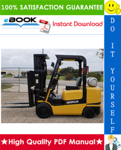 Caterpillar Cat GC15K, GC18K, GC20K, GC20K HP, GC25K, GC25K HP, GC30K Lift Trucks Service Repair Manual | eBooks | Technical