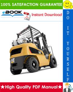 Caterpillar Cat GP15ZN, GP18ZN Lift Trucks Service Repair Manual | eBooks | Technical