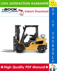 Caterpillar Cat GP20ZN, GP25ZN Lift Trucks Service Repair Manual | eBooks | Technical