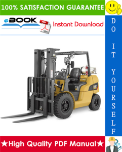 Caterpillar Cat EC35N, EC40N, EC45N, EC55N Lift Trucks (GE SX Controls) Service Repair Manual | eBooks | Technical