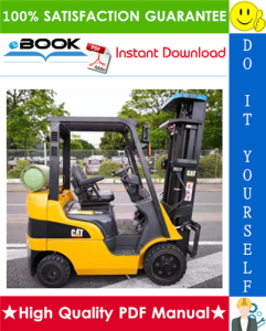 Caterpillar Cat GC20N, GC25N, GC28N, GC30N, GC33N Lift Trucks Chassis, Mast & Options Service Repair Manual | eBooks | Technical