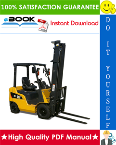 Caterpillar Cat DP20N, DP25N, DP30N, DP35N Lift Trucks Service Repair Manual | eBooks | Technical