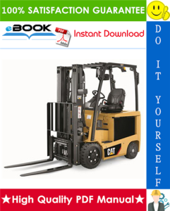 Caterpillar Cat EC15N, EC18N, EC20N, EC25EN, EC25LN, EC25N, EC30N Lift Trucks Service Repair Manual | eBooks | Technical