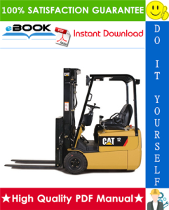 Caterpillar Cat EP10KRT, EP12KRT, EP15KRT Lift Trucks Chassis, Mast & Options Service Repair Manual | eBooks | Technical