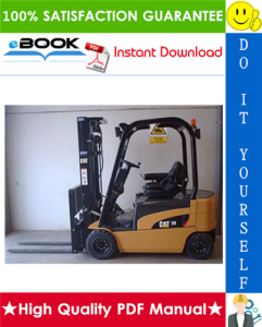 Caterpillar Cat EP16N, EP18N, EP20CN Lift Trucks Service Repair Manual | eBooks | Technical