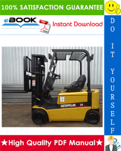 Caterpillar Cat EP16K, EP18K, EP20KC Lift Trucks Service Repair Manual | eBooks | Technical