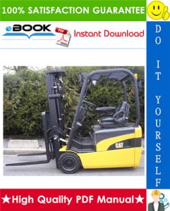 Caterpillar Cat EP16NT, EP18NT, EP20NT Lift Trucks Service Repair Manual | eBooks | Technical