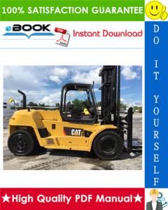 Caterpillar Cat GP40, GPL40 Lift Trucks Service Repair Manual | eBooks | Technical