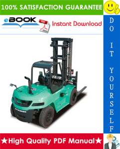 mitsubishi fd80, fd90 forklift trucks service repair manual
