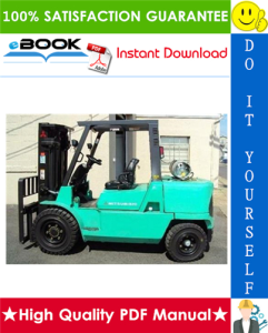 mitsubishi fg20hn, fg25hn forklift trucks (gasoline engine) service repair manual