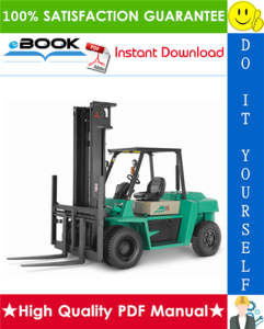 mitsubishi fd60, fd70 forklift trucks service repair manual