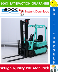 Mitsubishi FB16KT, FB18KT, FB20KT Forklift Trucks (Controller) Service Repair Manual | eBooks | Technical