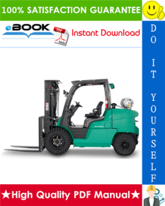 mitsubishi fg50 forklift trucks (engine) service repair manual