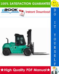 mitsubishi fd100n, fd120n, fd135n, fd150an, fd160an forklift trucks service repair manual