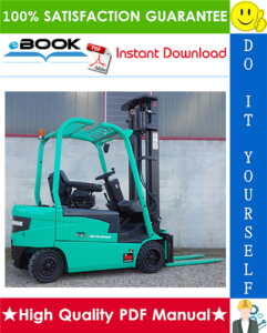 mitsubishi fb16n, fb18n, fb20cn forklift trucks service repair manual