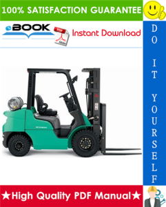 Mitsubishi FG40N, FG45N, FG50CN, FG50N, FG55N Forklift Trucks Service Repair Manual | eBooks | Technical