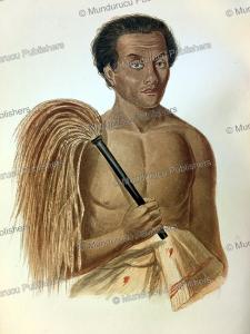 man of the samoan islands, james cowles prichard, 1848