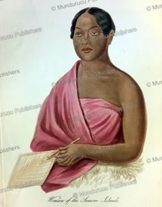 woman of the samoan islands, james cowles prichard, 1848