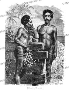 tattooed samoans, gustav mu¨tzel, 1886