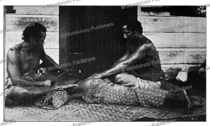 Tattooing in Samoa, Gaillard, 1896 | Photos and Images | Travel