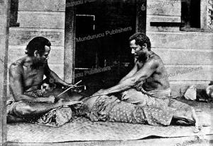 tattoo operation on samoa, carl marquardt, 1899