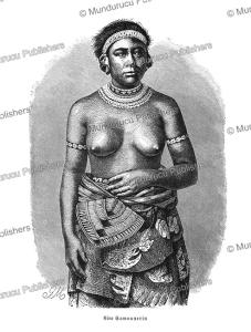 a woman from samoa, gustav mu¨tzel, 1886