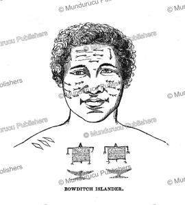 bowditch (fakaofo) islander, charles wilkes, 1845