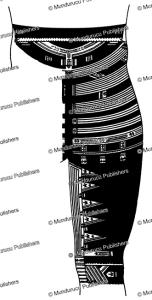 part of a samoan trouser tattoo for men, fresenius, 1896