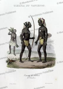Natives of Vanikoro, Louis Auguste de Sainson, 1835 | Photos and Images | Travel