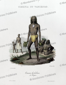 Chief of Tikopia, Louis Auguste de Sainson, 1835 | Photos and Images | Travel