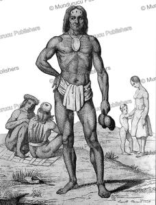 Chief of Vanikoro, Victor Marie Felix Danvin, 1828 | Photos and Images | Travel
