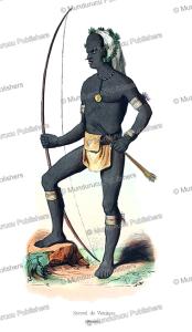 Warrior of Vanikoro, Santa Cruz Islands, Adolphe Franc¸ois Pannemaker, 1844 | Photos and Images | Travel