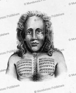 Native of Tikopia, Louis Auguste de Sainson, 1835 | Photos and Images | Travel