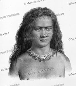 Son of Tafoua, Tikopia, Louis Auguste de Sainson, 1835 | Photos and Images | Travel