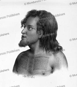 Tafoua, chief of Tikopia, Louis Auguste de Sainson, 1835   Photos and Images   Travel