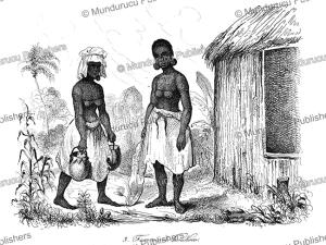Woman of Vanikoro, Tikopia, Louis Auguste de Sainson, 1839 | Photos and Images | Travel