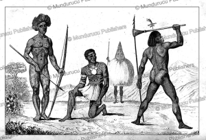 Natives of Vanikoro Island, Victor Marie Felix Danvin, 1835 | Photos and Images | Travel