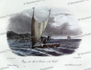 Canoe of Vanikoro, Louis Auguste de Sainson, 1835 | Photos and Images | Travel