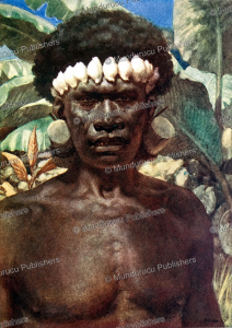 Cannibal of the Solomon Islands, Norman Hardy, 1907 | Photos and Images | Travel
