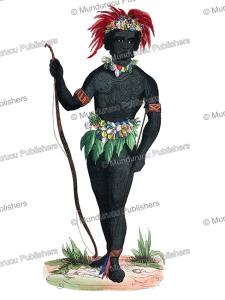 native of murderers' island (solomon islands), 1820