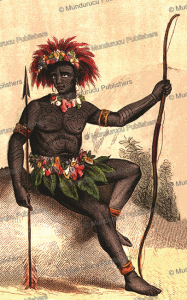 native of murderers' island (solomon islands), 1840