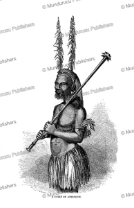 a chief of aneiteum, vanuatu, william dickens, 1863