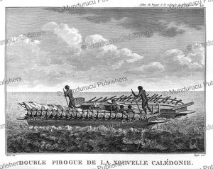 Double canoe of New Caledonia, Jean Piron, 1791 | Photos and Images | Travel
