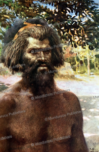 man from tanna, new hebrides, norman hardy, 1907