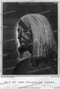 man of the island of tanna, william hodges, 1776