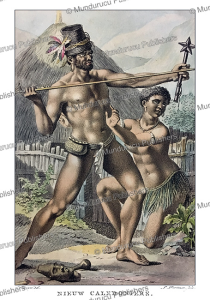 Natives from New Caledonia, Vanuatu, Jacques Kuyper, 1802 | Photos and Images | Travel