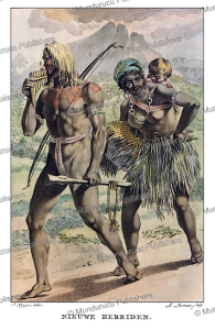 Natives from the New Hebrides, Jacques Kuyper, 1802 | Photos and Images | Travel